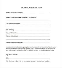 Sample Resume For Actors by Sample Actor Release Form 7 Free Documents In Pdf Word