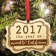 2017 personalized ornament milestone ornament