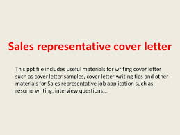 cover letter examples for outside sales
