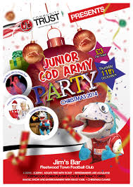 Christmas Party Ticket Junior Cod Army Christmas Party 2014