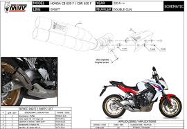 cbr price list h 054 ldg exhaust muffler mivv double gun full titanium honda cb