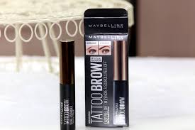 tattoo eyebrows by maybelline does it work maybelline s new tattoo brow 3 day brow tint