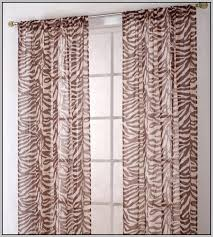 Zebra Curtain Panels Zebra Print Sheer Curtain Panels Curtains Home Design Ideas
