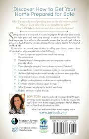 feel at home home staging secrets for a quick and easy sell tori