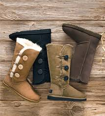 womens ugg triplet boot ugg australia s bailey button triplet boots boots