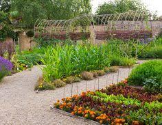 the potager or ornamental kitchen garden vegetable garden