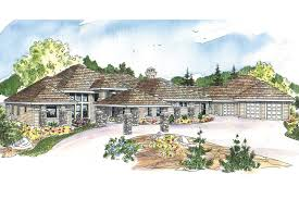 Mission Style House Plans Prairie Style House Plans Westfair 30 445 Associated Designs