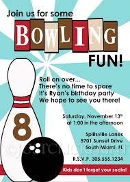 bowling party invite image collections party invitations ideas