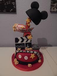 Movie Themed Cake Decorations Mickey Movie Themed Cake Cakecentral Com
