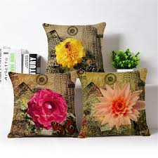 online get cheap vintage floral cushion covers aliexpress com