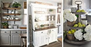 kitchen decor ideas 38 best farmhouse kitchen decor and design ideas for 2018