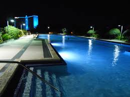 Inground Pool Designs by Unique 90 Inground Pools At Night Design Decoration Of Custom