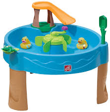 toy story activity table amazon com step2 duck pond water table toys games