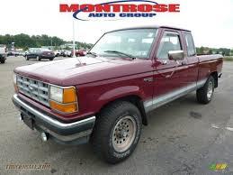 Ford Ranger Truck 4x4 - 1992 ford ranger xlt extended cab 4x4 in medium cabernet red