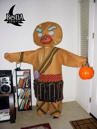 Halloween Costumes Gingerbread Man Cat Costume Bestia Story