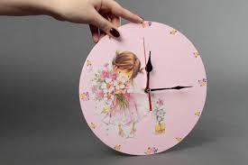 Pendule Murale Originale by Madeheart U003e Horloge Murale Faite Main Pendule Originale