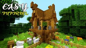 cute easy u0026 compact minecraft survival house tutorial best