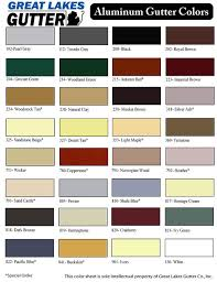 Gutter Estimate Sheet by Color Sheet Great Lakes Gutter Michigangutters Com Michigan