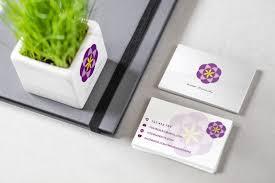 business card template design u2013 u201crose flower u201d u2013 aya templates