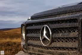 mercedes benz g class 2017 off road in a mercedes benz g wagen in scottish highlands