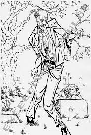 walking dead coloring book walking coloring pages shane