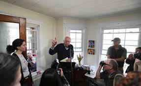 bernie sanders house in vermont gallery a look back at bernie sanders run for president