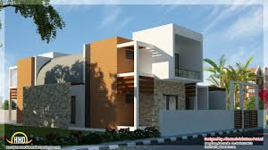 Modern House Plans In Kerala With Photo Gallery Nice Modern Home Office On Modern Home Elevation 1600x900