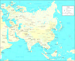 Map Of Countries Asia Map And Satellite Image Remarkable Of Countries Only Creatop