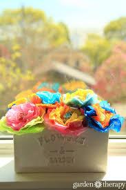 Garden Diy Crafts - how to make lollipop flowers diy craft for kids