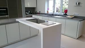 grey krion bright concrete u0026 white krion white star worktop
