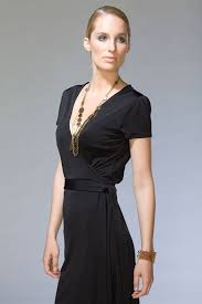 black wrap dress with boots modern fashion styles