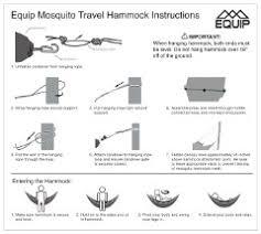 equip one person mosquito hammock walmart com
