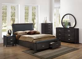 loretta queen 4pc contemporary platform storage bedroom magnifique furniture lyric eastern king sleigh platform bed