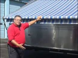 Cleaning Awnings Zip Dee Awning Fabric Cleaning Youtube
