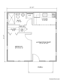 small one bedroom house plans lots of cottage floor plans and exterior photos this one is a 22