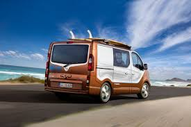 surf car 2016 opel vivaro surf concept lifestyle van for sports and leisure