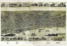 Aerial Map Of Chicago by Memphis Aerial Views In Vintage Photos And Postcards