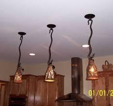 Tuscan Kitchen Island Lighting Fixtures Attractive Kitchen Island Lighting Fixtures And Brown Wooden