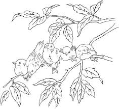 happy bird coloring pages free child color 5105 unknown