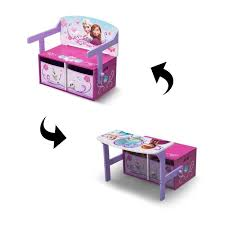 bureau enfant mickey meuble rangement delta