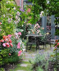 cottage style backyards from blah lawn to backyard rose garden paradise fence screening