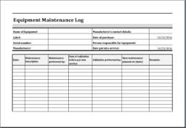 Truck Maintenance Spreadsheet by 20 Editable Log Spreadsheet Templates For Excel Templateinn