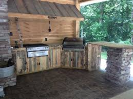 rustic outdoor kitchen ideas building an outdoor kitchen with wood outofhome