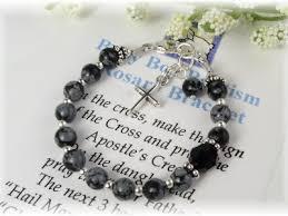 baby rosary bracelet addictivejewelry baby baptism jewelry communion jewelry