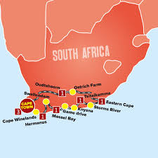 Africa Map Games by Cape Town And The Garden Route Tour Expat Explore