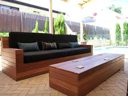 Modern Outdoor Sofa Wooden Furniture Gorgeous Outdoor Sofa Wood Wonderful