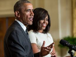 obama s president obama and first lady michelle obama host black history