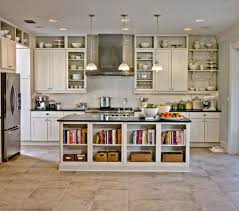 kitchen room 2017 white wooden kitchen island shelves for books