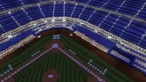 yankee stadium on minecraft youtube