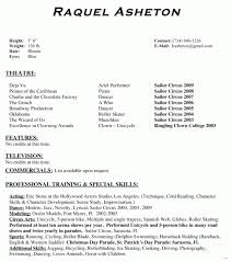 actor resume template theater resume template present day impression acting exle best